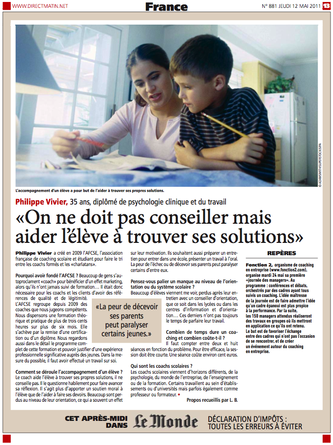 Interview philippe vivier Direct matin